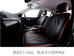 BENZ C-Class BLACK×ORANGE