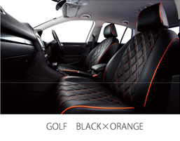 GOLF BLACK×ORANGE